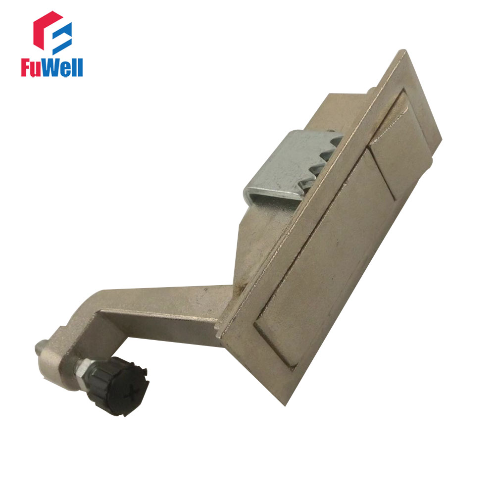 Plane Lock MS708 Metal with Press Button 82mm Length Cabinet Lock [ lock ] side press the switch 10mmx10mm shaft length 9mm