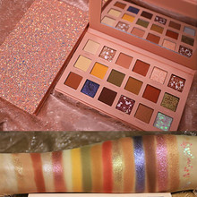 18 colors nude color shiny eye shadow palette makeup glitter paint smoky eyeshadow Pallete waterproof cosmetics 18 colors nude color shiny eye shadow palette makeup glitter paint smoky eyeshadow pallete waterproof cosmetics