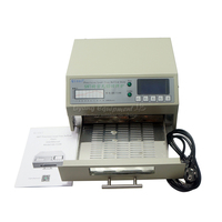QS 5100 T962 600W desktop reflow oven automatic lead free IC Heater Infrared Rework solder area 180*120mmfor SMD rework