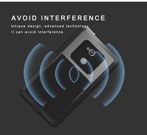 Image 3 - Pour SONY Xperia XA2/XA2 Ultra coque LOVE MEI résistant aux chocs et à la saleté coque de téléphone en métal résistant à leau pour Sony Xperia XA2