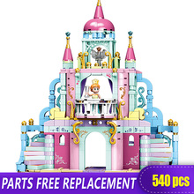 Xingbao 12019 Snow White Princess Castle Building Blocks Compatible with LOGO for Girlss Dream Toys