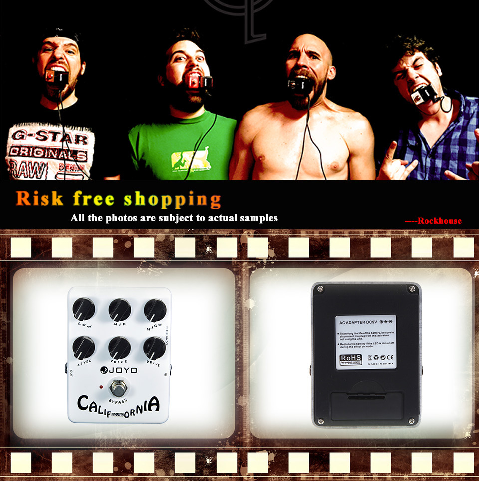 Joyo Jf 15 California Sound Guitar Effect Pedal Amp Simulator Efek Gitar Amt R1 Get Lots Of Natural And Focused Rock Tones Simulates Mesa Boogie Mk Ii Amplifier 6 Adjusting Knobs For Complete Manipulation