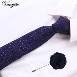 6 см в горошек и в полоску с бантом хлопок череп шеи галстук и броши набор Галстуки для Для мужчин Gravata Borboleta из vestidos аксессуары