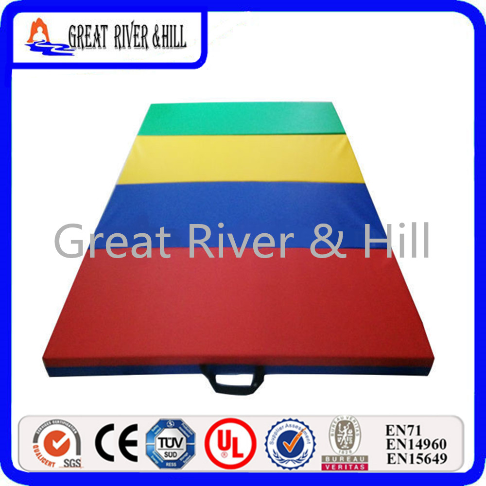 Great River Hill 4 Folding Exercise Gymnastics  with size 2.4mx1.2mx3cm сумка river island river island ri004bwzyz56