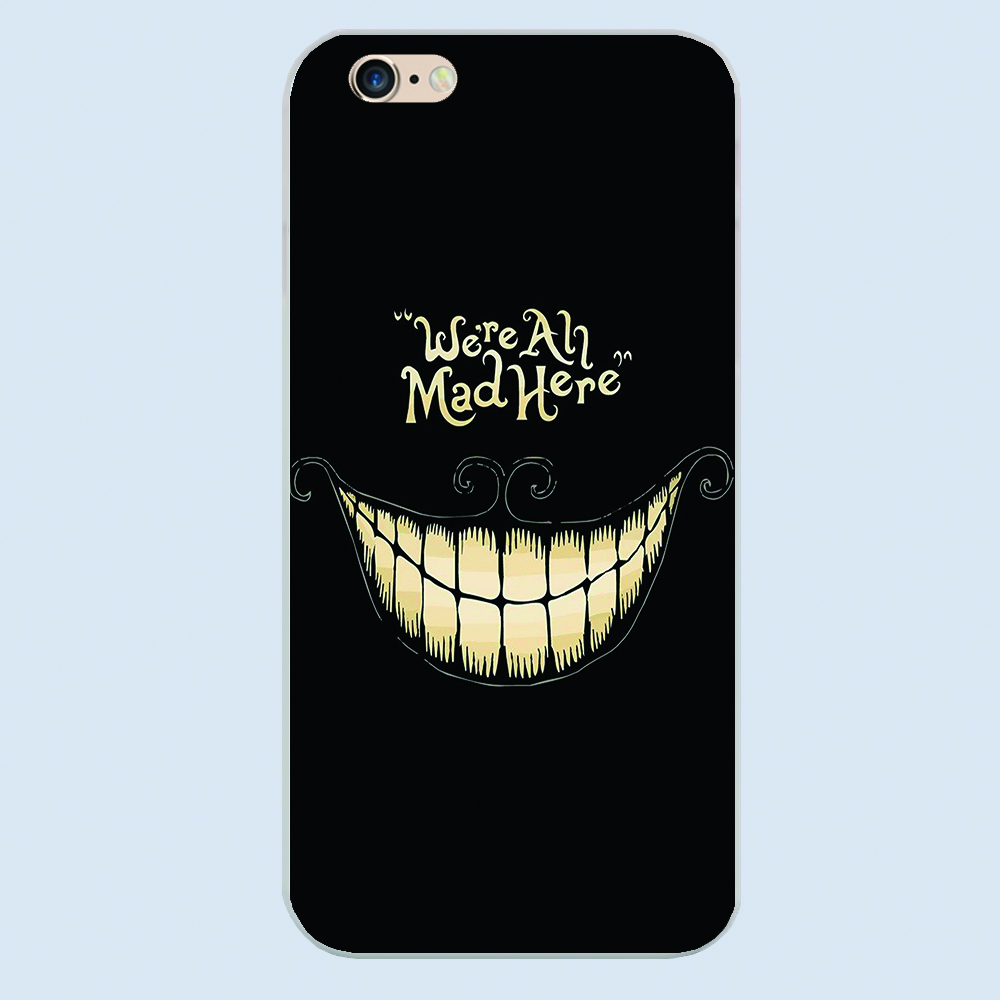 Clown Black cover For Apple iphone 5S 5 5c 4 4S 6 6s plus The Offspring Merch cartoon Joker Design phone case