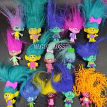 3Pc/5Pcs/lot Trolls Figures Poppy Branch Action Figure Toy Set New Movie Trolls Figurine Doll Birthday Party Gift(China)
