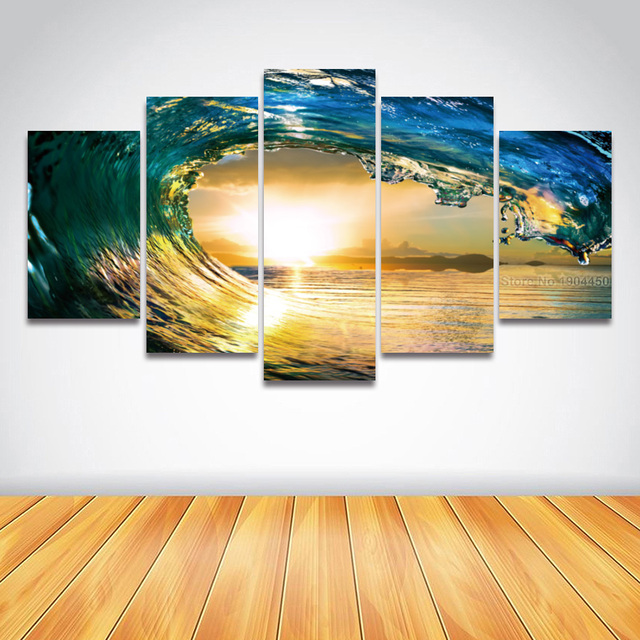 Old Fashioned Seascape Wall Art Pattern - Wall Art Collections ...