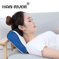 Neck cervical physical body spinal massage instruments neck pillow electric heat charging massage pillow