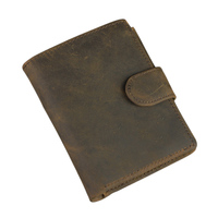 High Quality Wallets 100 Genuine Leather Wallet Cowhide Trifold Zipper Men Wallet Card Holder Coin