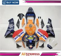 Free Shipping Nice Painting Fairing Kits Set For Honda CBR600RR 2003 Repsol Fairings Bodywork CBR600 RR 2004 Kit