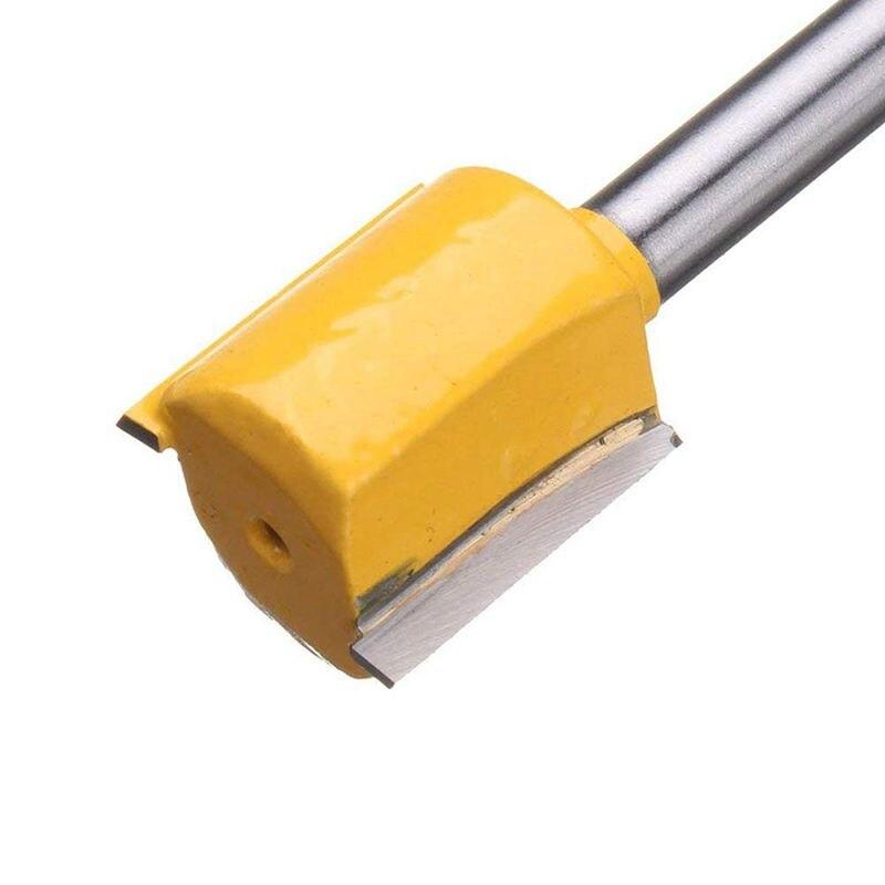 Купить с кэшбэком Set Of 5 Piece Straight Dado Router Bit Set Carbide Wood Milling Cutter Tools,Cutting Diameter 1/4 Inch,3/8 Inch,1/2 Inch,5/8