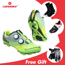 2019 Sidebike Sapatilha Ciclismo MTB Cycling Shoes Men Carbon Mountain Bike Shoes Zapatos Bicicleta Sneakers 자전거 신발 Green sidebike sapatilha ciclismo mtb cycling shoes men carbon mountain bike shoes anti slip zapatos bicicleta sneakers bicycle