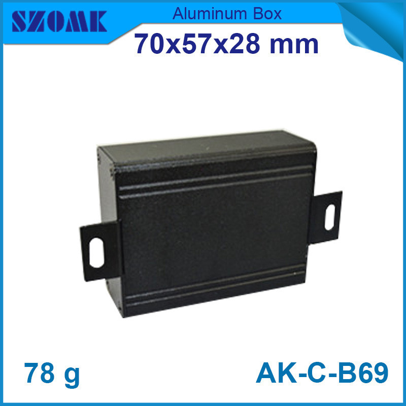4 pcs/lot small black aluminum box from OMK Shenzhen China, belonged to the juction and project box which is cheap and pretty atamjit singh pal paramjit kaur khinda and amarjit singh gill local drug delivery from concept to clinical applications