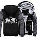 Wholesale Price Fashion Dallas Winter Autumn Women Men's Hoodie Cowboys Zipper Jacket Casual Sweatshirts Clothing Sportwear