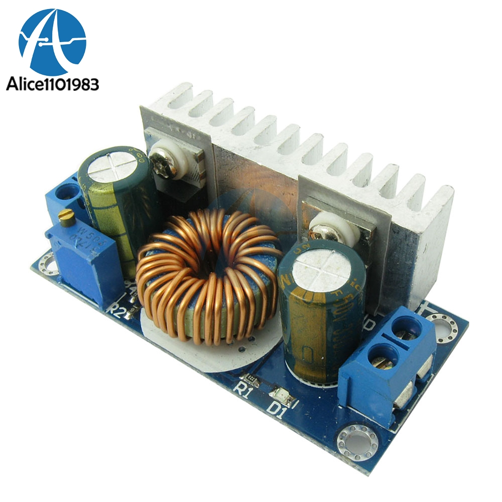 Max 8a Dc-dc Step Up Isolation Booster Power Supply Converter Module Boost Board Solar Battery Charger Charging High Frequency Removing Obstruction Integrated Circuits Active Components