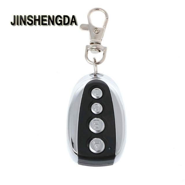 US $2 56 17% OFF|JINSHENGDA Remote Control 433Mhz Duplicator Copy Remote  Control For CAME TOP 432EV 432NA Garage Door Gate-in Remote Controls from