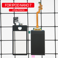 OTMIL 100% Tested For iPod Nano 7 7th Gen LCD Touch Screen Digitizer Assembly For iPod Nano 7 LCD Screen For iPod 7 Screen