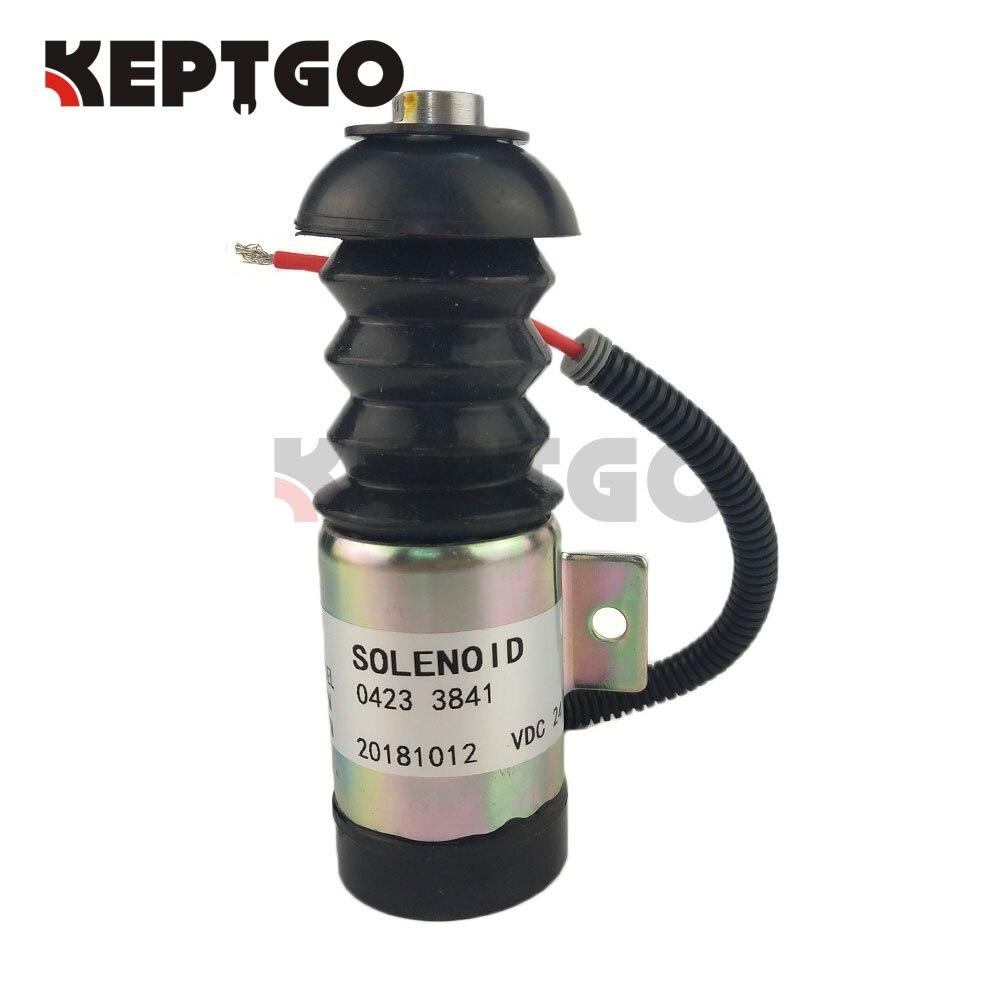 24V Stop Solenoid 04234303 37DZS1E2 for Deutz D3L91403 D4L91404 D5L91406 D6L91406 0423 4303 37DZ/S/1/E/224V Stop Solenoid 04234303 37DZS1E2 for Deutz D3L91403 D4L91404 D5L91406 D6L91406 0423 4303 37DZ/S/1/E/2