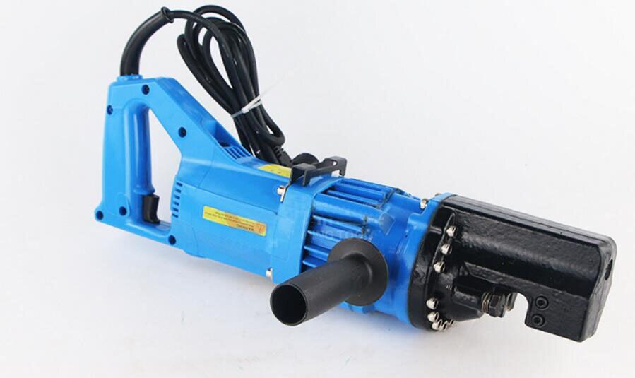 Eletro-hidráulico Barra de Aço Máquina de Corte Cortador de Vergalhão 4-16mm