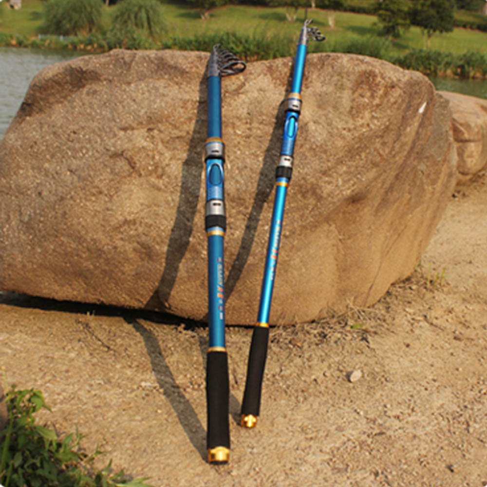 Portable fishing pole accessories 2 1m telescopic for Fishing rod accessories
