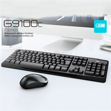 Newest Universal Wireless Gaming Mouse Keyboard Set for Desktop Computers Notebooks Pro Gamer Keyboard for Windows 7/8/xp/vista