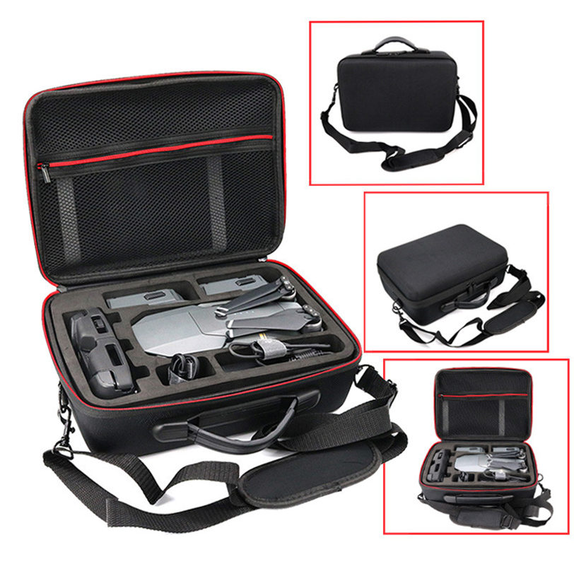 Shoulder Bag Case Protector EVA Internal Waterproof For DJI MAVIC Pro Drone New Factory price May26 waterproof spark bag box case accessories for dji spark drone storage bag carry case