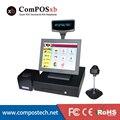 Лучший Epos Решение 15 Дюймов 5-проводной Сенсорный Монитор Все-В-Одном POS PC Shop Billing Оборудование Оплаты терминал