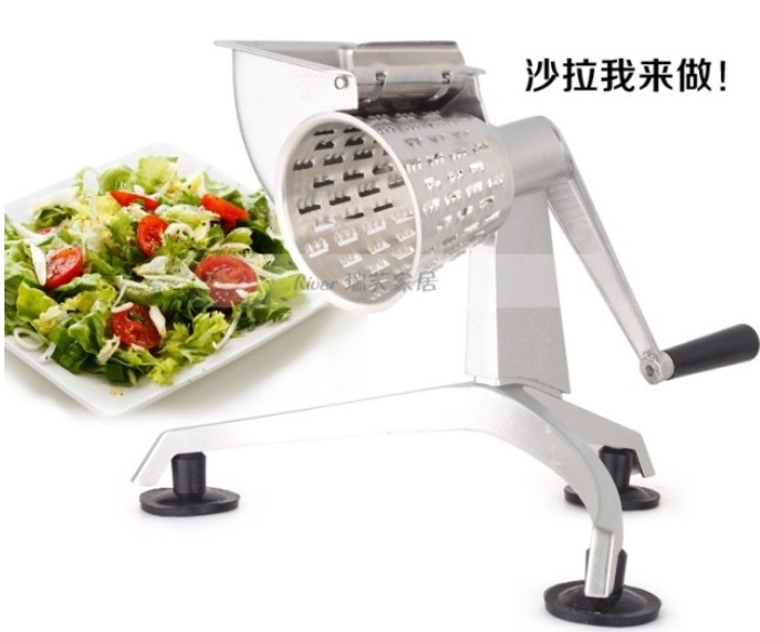 Saladmaster Grater Shredder Salad cutter with Five Cone Shaped Blades Food Processor machine
