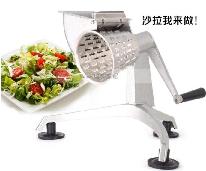 Saladmaster Grattugia Shredder taglierina Insalata con Cinque A Forma di Cono Lame Robot da Cucina