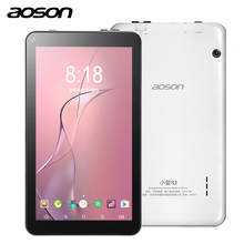 AOSON 7.0 Inch kids Tablet PC Quad core 3G/4G android phone call tablet 1GB+16GB Large memory Gift Games tablet Baby PAD
