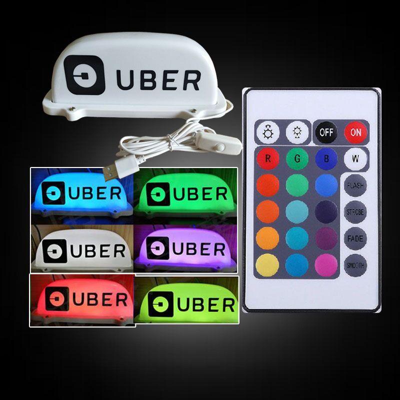 Il trasporto libero di nuovo di alta qualità 12 v-24 v HA CONDOTTO A Lungo Auto Auto Tetto a Cupola Cab Taxi Magnetica lampada Della luce di taxi Giallo luce superiore di inviare