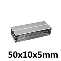 *20/50/100 pcs Neodymium magnet 50x10x5mm gallium metal round strong magnets 50*10*5mm electromagnet fridge magnets speaker