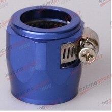 AN-16 AN16 синие зажимы для топливного шланга отделочник шестигранные отделочники HEX-16