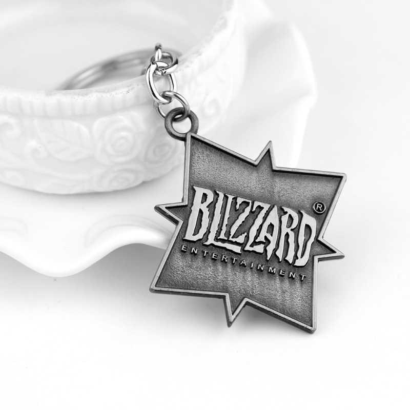 Overwatch Metal Anahtarlık Sıcak Oyunu OW Logo Bronz/Gümüş Kaplama Araba Anahtarlık Tutucu Llaveros Kadınlar Ve Erkekler Takı taraftarları Hediyeler