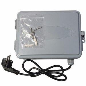 Image 5 - 11 Station Tuin Automatische Irrigatie Controller Water Timer Gieter Systeem met EU standaard Interne Transformator #10469