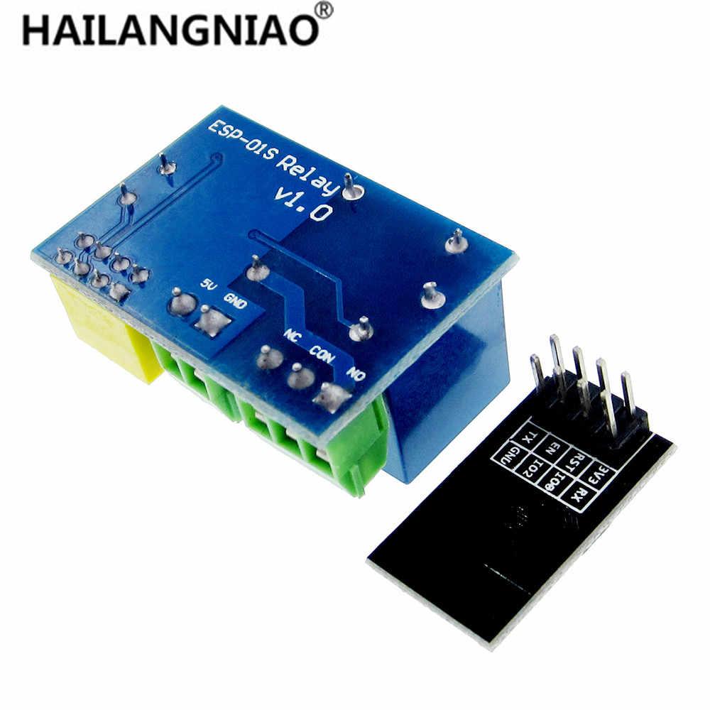 ESP8266 ESP-01S 5 В релейный модуль Wi-Fi вещи умный дом дистанционное управление переключатель для телефона ПРИЛОЖЕНИЕ ESP01 беспроводной wifi модуль
