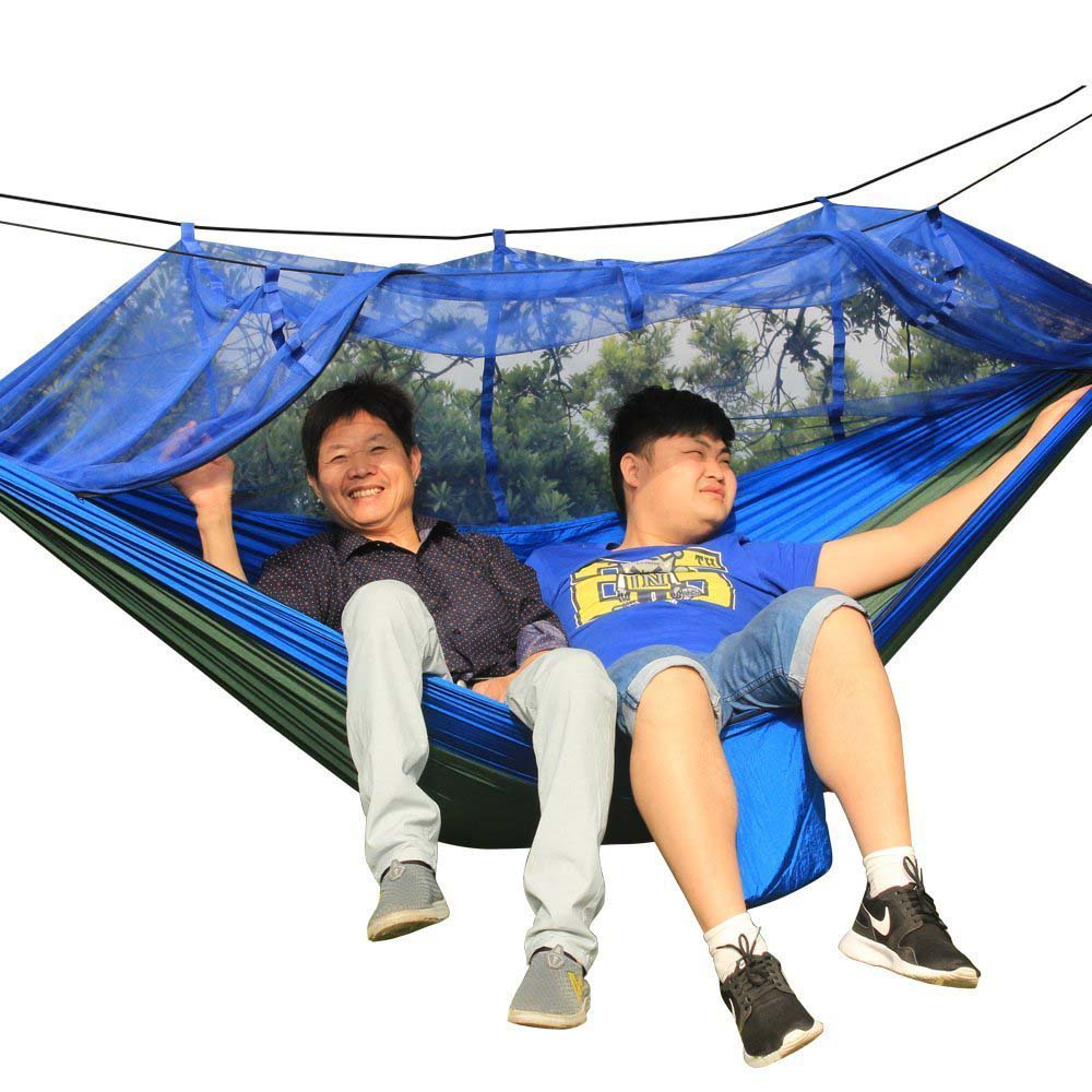 Portable Outdoor Camping Hiking Sleeping Hanging Mosquito Net Bed Tent Hammock sport Toy free shipping chrome finish modern wall lamp bedroom sconce with cylinder crystal lamp shade