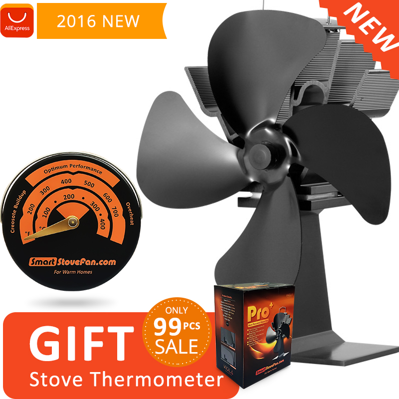 Aliexpress.com : Buy Free Gift Magnetic Stove Thermometer with Heat Powered  Stove Fan Eco Wood Stove Fan from Reliable stove fan suppliers on For Warm  Homes - Aliexpress.com : Buy Free Gift Magnetic Stove Thermometer With