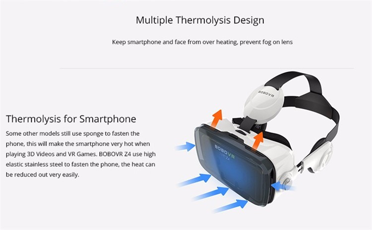 Xiaozhai BOBOVR Z4 3D VR Glasses Virtual Reality Headset Cardboard Oculus Rift Gear VR Vive Box  for iPhone HTC 4.7~5.56 Smartphone (20)