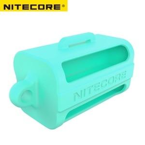 Image 5 - Nitecore NBM40ซิลิคอนกล่องเก็บแบบพกพาแบตเตอรี่18650แบตเตอรี่