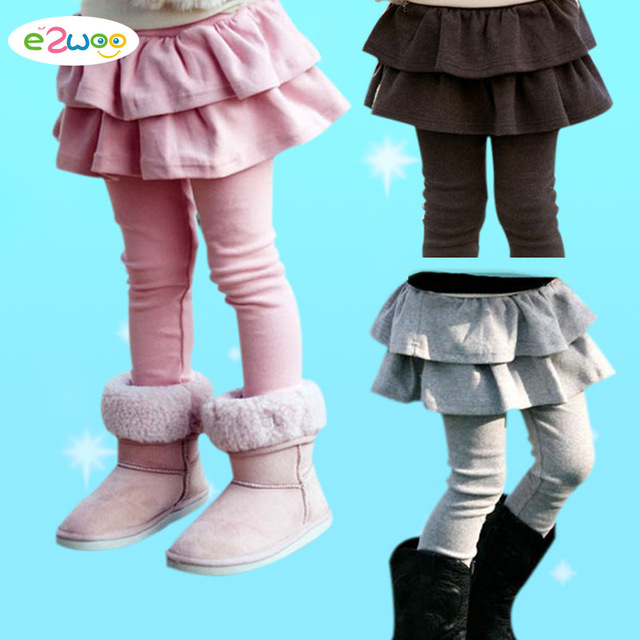 fd28dd86f61ec Free Shipping Retail Girl Legging Girls Skirt-pants Cake Skirt Kids  Leggings Girl Baby Pants Kids Leggings Leggings For Girls