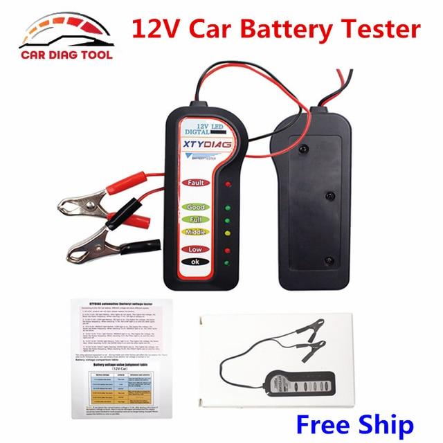 Automotive Car 12v Battery Voltage Tester Diagnostic Tool Auto