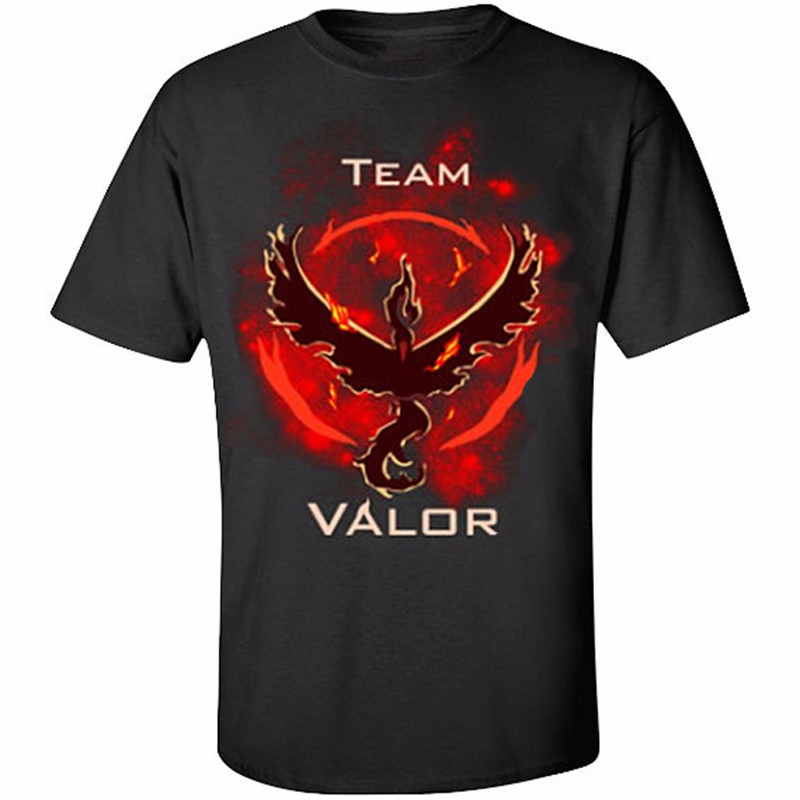 3899adf67ece99 Pokemon Gehen Team Valor Instinct Mystic T Hemd Cosplay Kostüm Rot Gelb  Blau T Shirt Baumwolle T in Pokemon Gehen Team Valor Instinct Mystic T Hemd  Cosplay ...