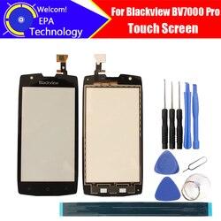 5.0 calowy ekran dotykowy Blackview BV7000 Pro szkło 100% gwarancji oryginalny ekran dotykowy szklany Panel dla BV7000 Pro + prezenty w Panele dotykowe do telefonów komórkowych od Telefony komórkowe i telekomunikacja na