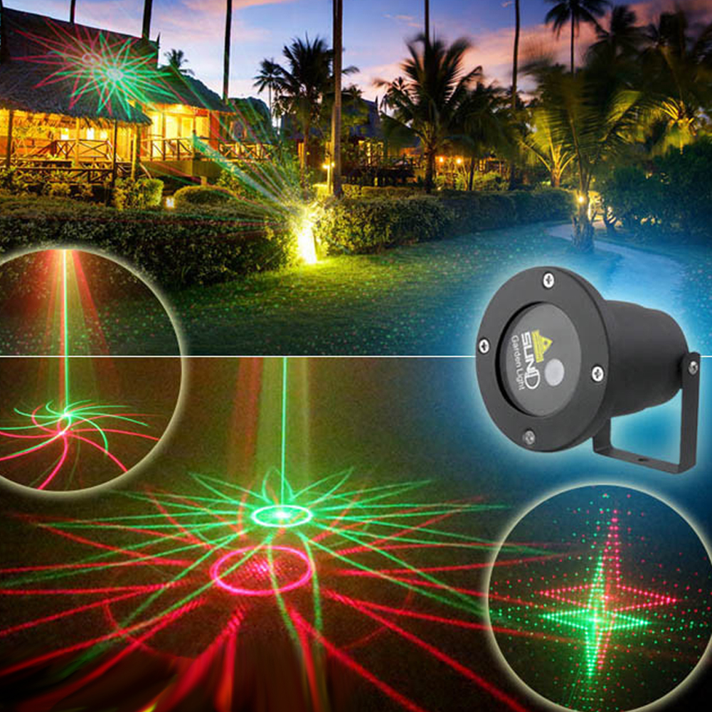 Outdoor Christmas LED Landscape Lighting Remote Control Waterproof Garden Light Laser LED For Holiday Decoration free shipping remote control colorful modern minimalist led pyramid light of decoration led night lamp for christmas gifts
