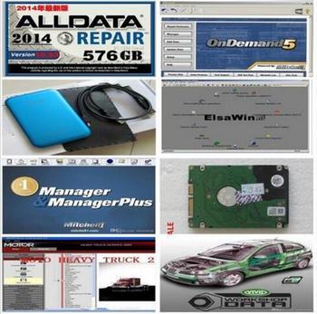 2017 ALL Auto repair software alldata 49 software with 1000GB hard disk mitchell contain ALLDATA 10.53 ALL DATA English version