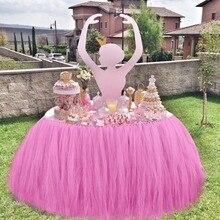 Теплая Тюлевая юбка-пачка с конфетами, кружевная скатерть, вечерние сувениры, Свадебный сувенир на день рождения, украшение стола 100*80 см
