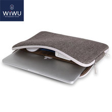 2016 Hot Selling Laptop Sleeve for MacBook Pro 13 Soft Felt Shockproof Case 11 12 15.4 Inch Inner Pocket Bags