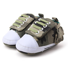 High Quality Canvas Baby Boy Shoes For Newborn 0-12 Moths Babies Lace-up First Walkers Blue Color Cute Fashion