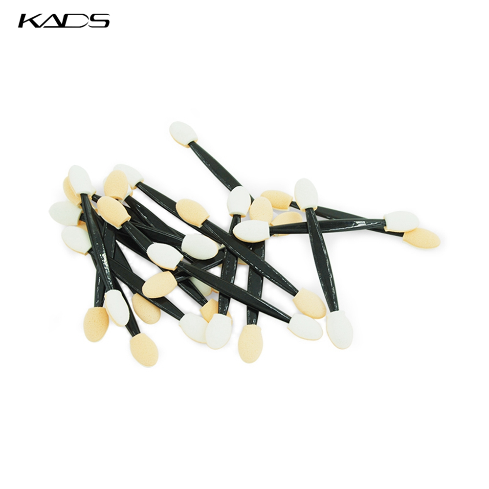 KADS 20pcs/set Nail Mirror Human Handle Double SidedNail Art Tool Mirror Powder Tool Nail Art Decoration Brush Dust Applicator